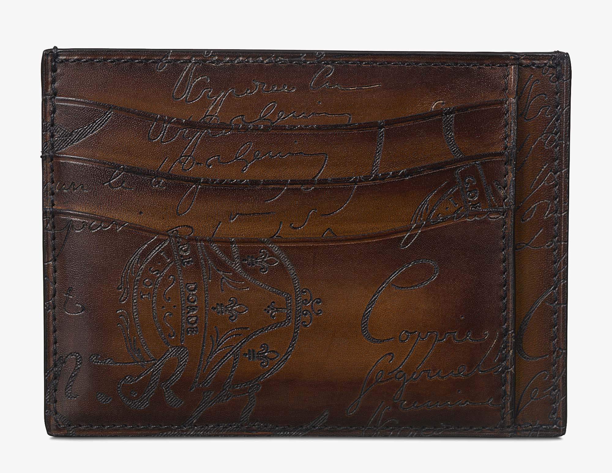 leather card wallet